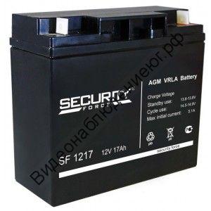 Аккумуляторная батарея 12В 17Ач
